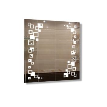 "Зеркало ""Кубики"" с технологией LED-подсветки d32"