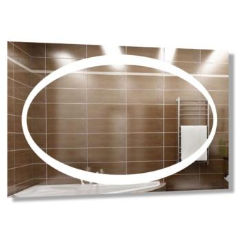 "Зеркало ""Овал"" с технологией LED-подсветки d39"